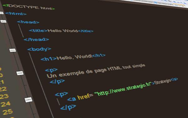 exemple code html