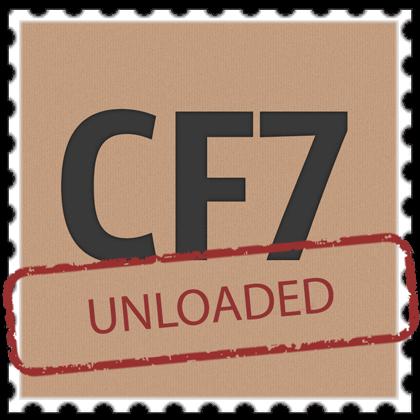 cf7 unloaded