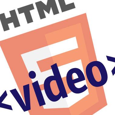 la balise video de html5